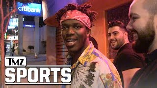 KSI Says Logan Paul is 'Delusional' to Want UFC Fight, 'He's Gonna Get F*cked' | TMZ Sports