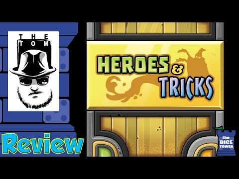 Heroes & Tricks Review - with Tom Vasel