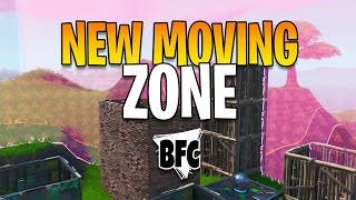 THE BEST MOVING ZONE MAP IN FORTNITE ! NO BUGS - BFC Ultimate Moving Zone (1810-4035-9165)