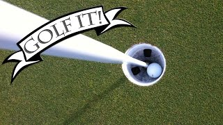 HOLE IN ONE! IMMER! 🎮 Golf it!