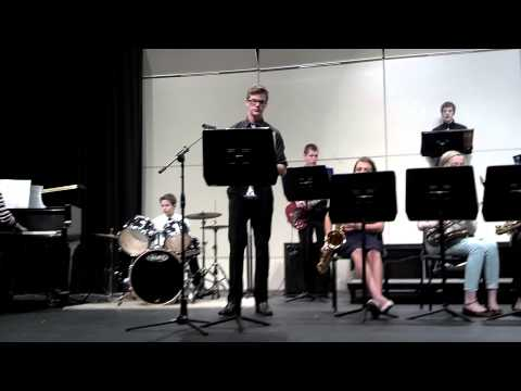 Iowa Christian Academy Jazz Band 2012 cut 1