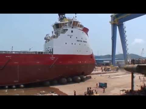 LAUNCH OF BRITOIL ENERGY PSV