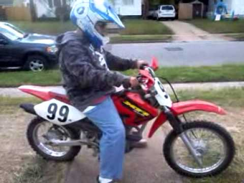 My new 2002 Honda XR80R  YouTube