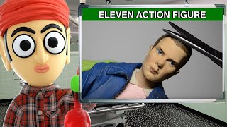 Eleven Stranger Things McFarlane Action Figure - Runforthecube Toy Review