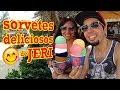 O que comer em Jericoacoara: sorvetes artesanais incríveis