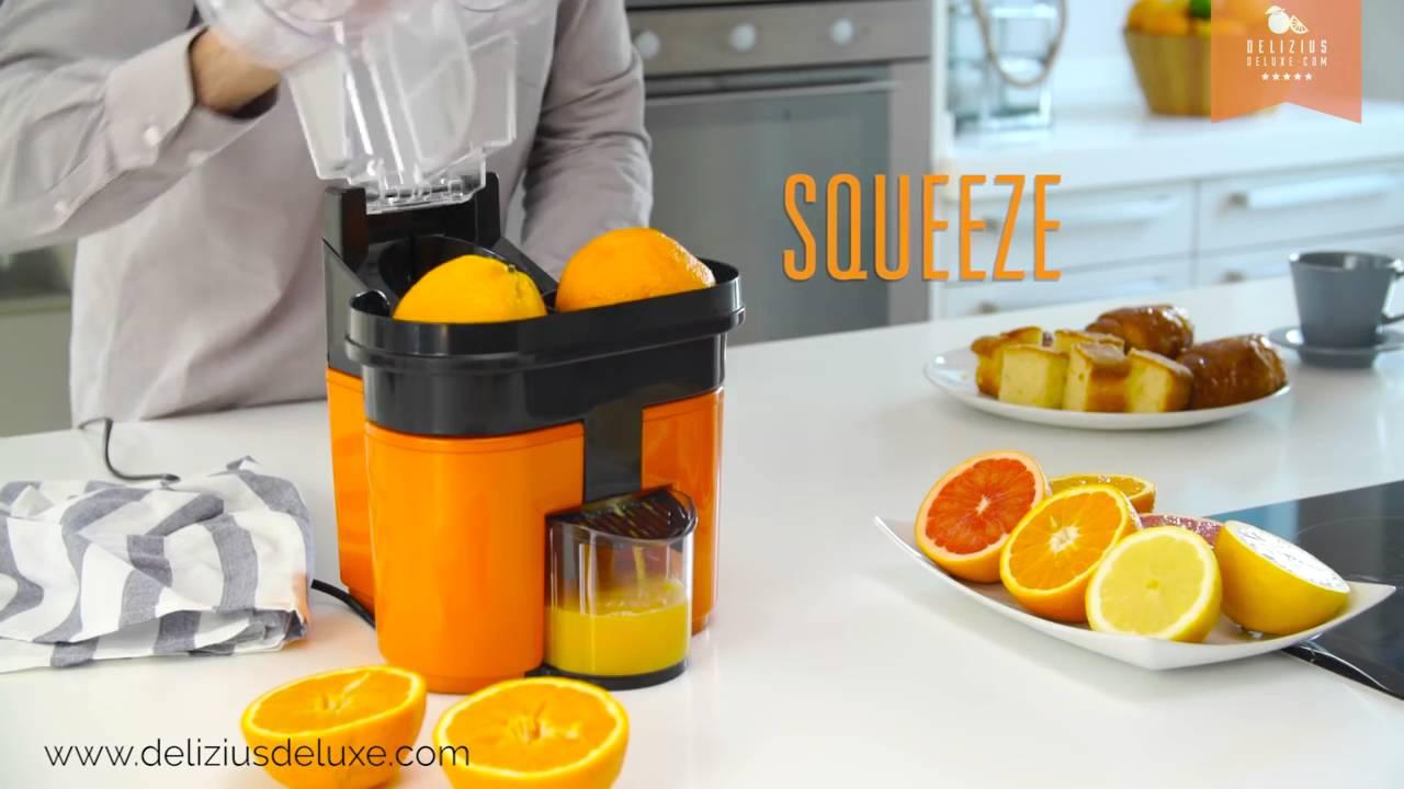 double presse agrumes lectrique orange juicer youtube. Black Bedroom Furniture Sets. Home Design Ideas