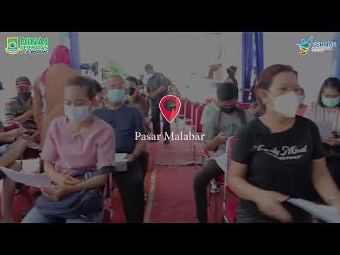 Vaksinasi Bagi Petugas Pelayanan Publik di Kota Tangerang