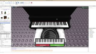RobLOX's Playable Virtual Piano (Brief Showcase/Tutorial)