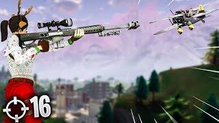 I SNIPED HIM OUT OF THE PLANE! (Fortnite Battle Royale)