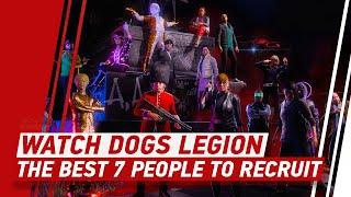 Watch Dogs: Legion's 7 Best Recruits