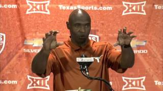 Charlie Strong Monday press conference [Oct. 5, 2015]