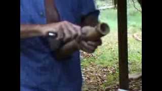 making bamboo water bong part 2