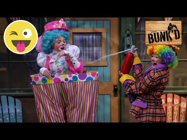 Klovne | Bunk'd | Disney Channel Danmark
