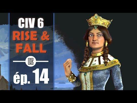 [FR] Civilization 6 RISE AND FALL Géorgie let's play ép 14