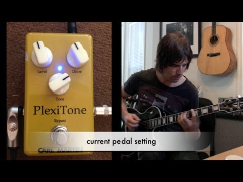Carl Martin Plexitone (new 2012 model), demo by Pete Thorn