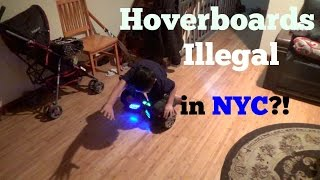 HOVERBOARDS ILLEGAL IN NYC?!