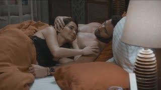 Pasado: Noche de pasión entre Carolina y Santiago   Caer en tentación Capitulo 66