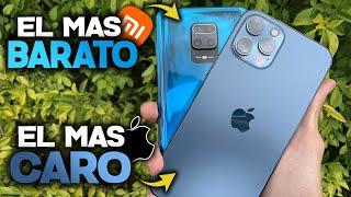 EL MEJOR IPHONE contra un XIAOMI CALIDAD PRECIO - Redmi Note 9s vs iPhone 12 PRO MAX