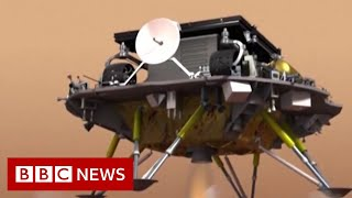 China lands its Zhurong rover on Mars - BBC News