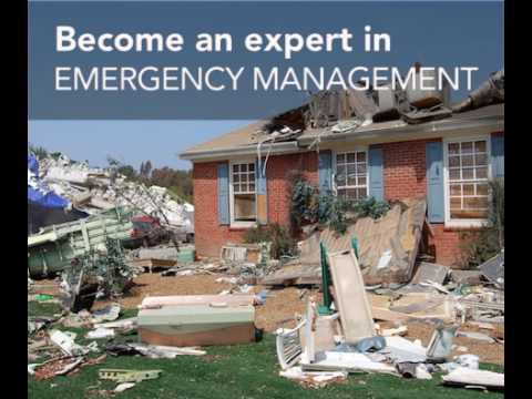 Emergency Management Graduate Certificate Program