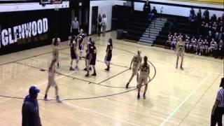 Glenwood 7th grade girls vs. Shenandoah