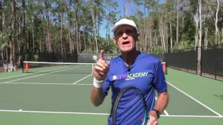 Tennis Lessons - Stop Hitting Your Forehand Beyond The Baseline