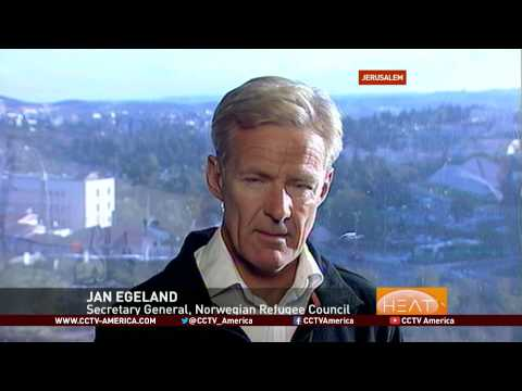Jan Egeland of the Norwegian Refugee Council talks about Gaza rebuilding