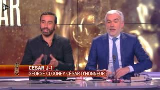 Belmondo et Clooney à l'honneur pour la 42e cérémonie des César