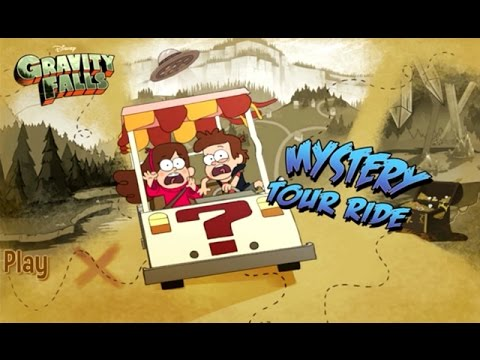Disney: Gravity Falls - MYSTERY TOUR RIDE (Disney XD Games)