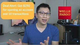 """Free"" $250 w/ Wells Fargo Checking Account"