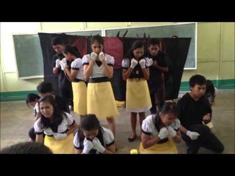 FSUU Speech Choir (The Bells by Edgar Allan Poe) @ 12th RMYC Camiguin