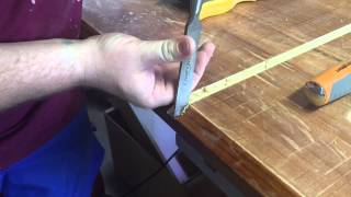 Routing mitre slots into custom table saw top