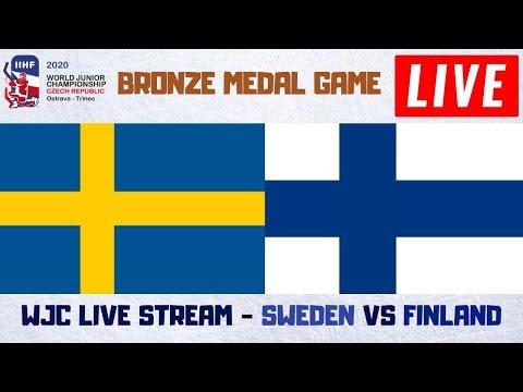 Sweden Vs Finland Live Stream | IIHF World Junior Hockey Championship 2020 Play By Play