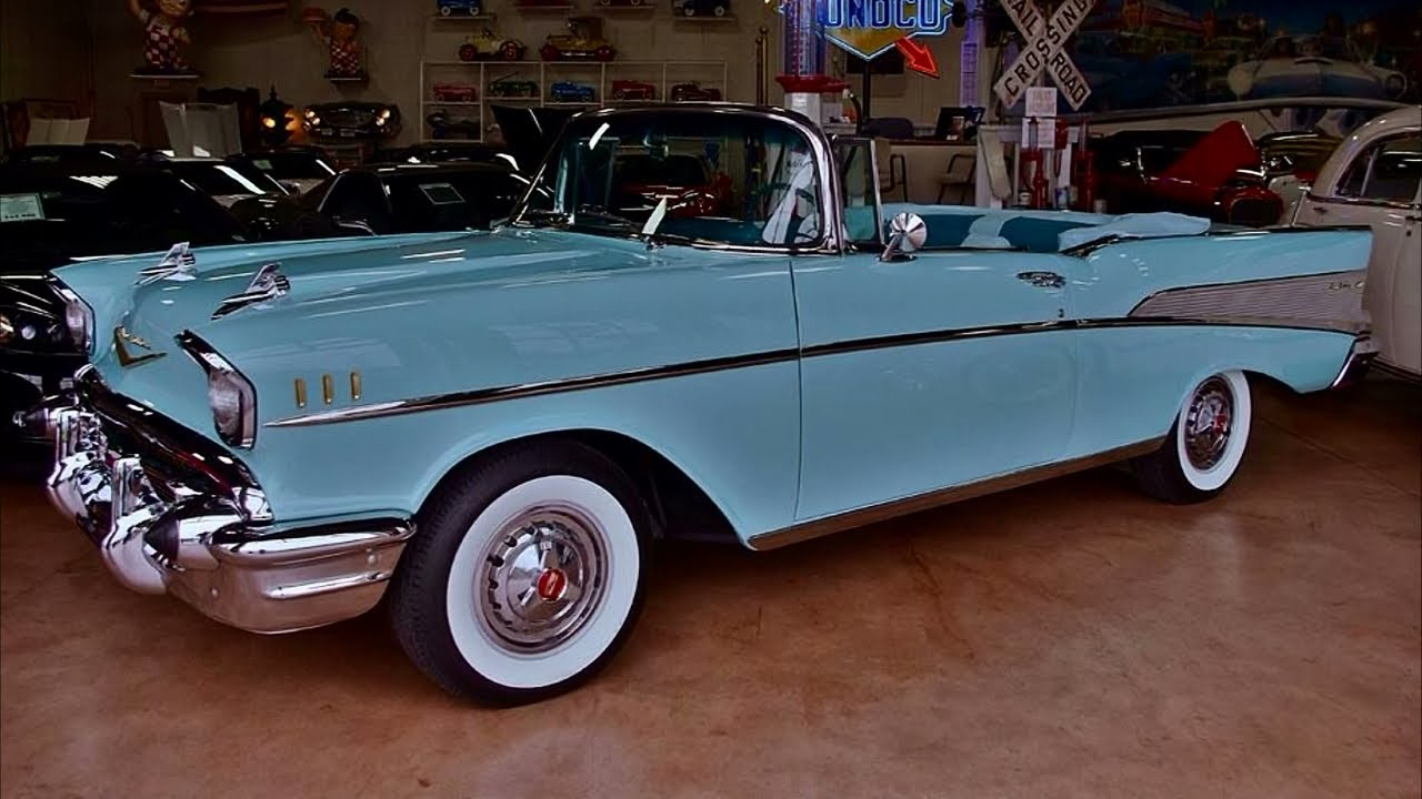 1957 Chevrolet Bel Air Convertible 283 V8 Automatic Nicely Red Clic You