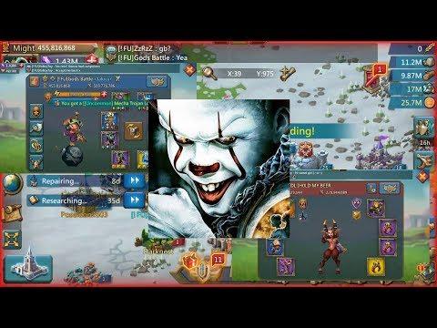 Gods Trap Vs [DL.]Guild -Lords Mobile