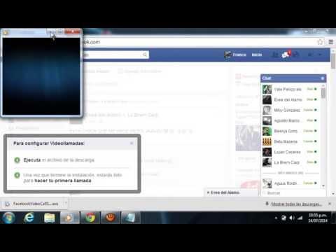 instalar videollamadas en facebook para mac