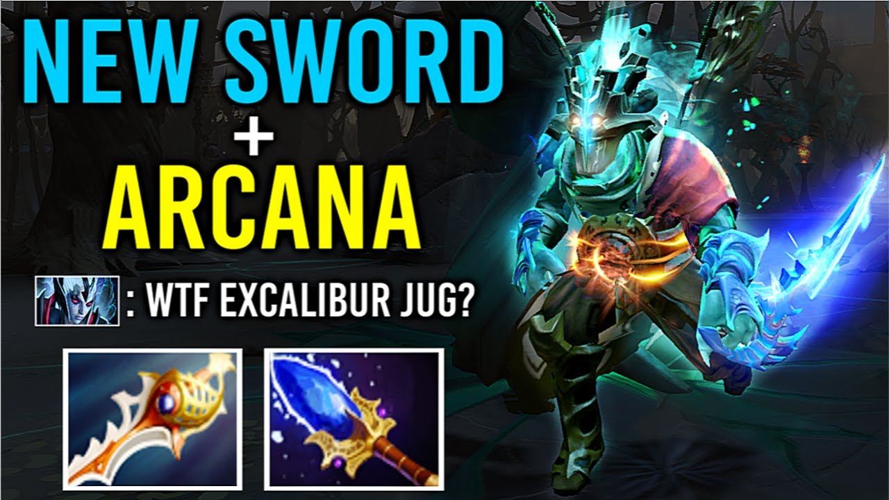 NEW ELECTRIC SWORD Juggernaut + ARCANA Battle Fury Build Best Effect Gameplay 7.27 Dota 2
