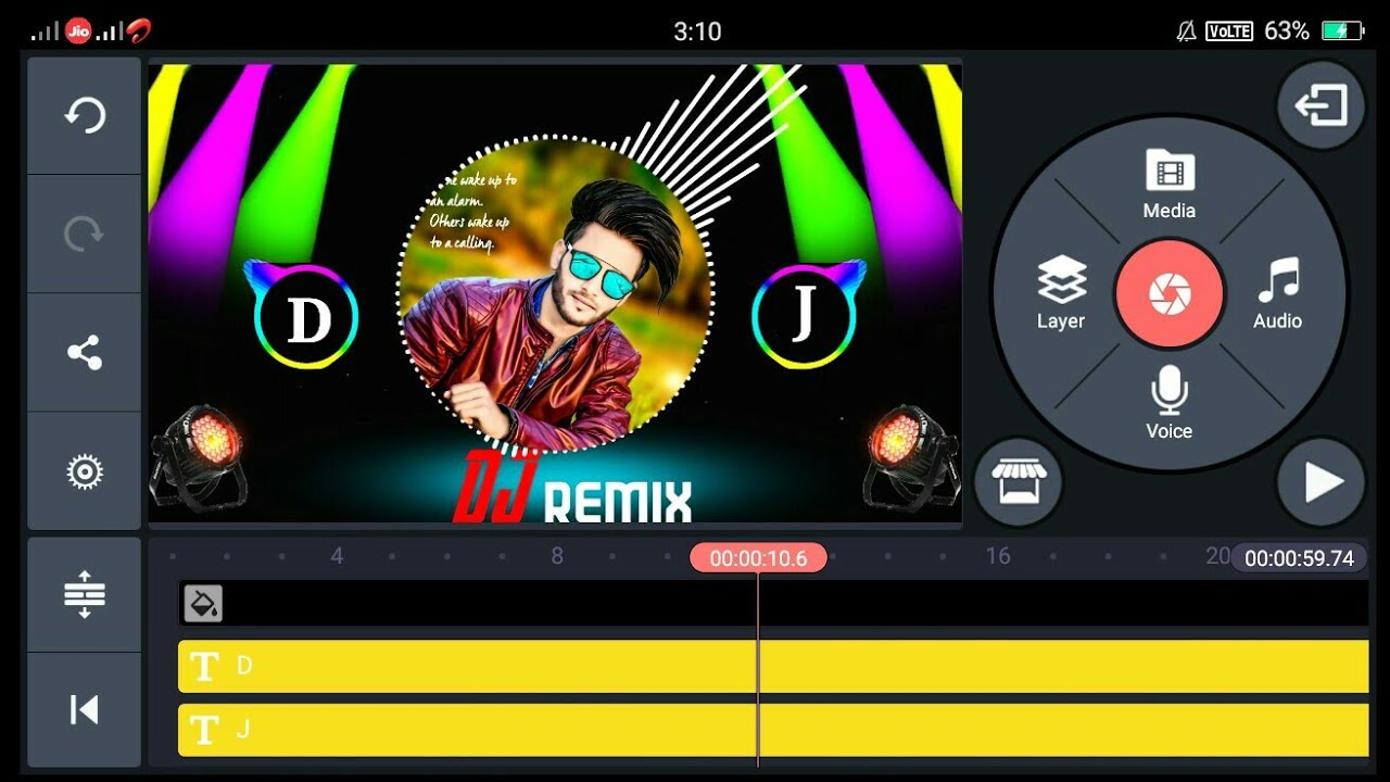Download How to make Name DJ song remix in Kinemaster ||अपने नाम का DJ Song कैसे बनाएं /Name DJ Song Make