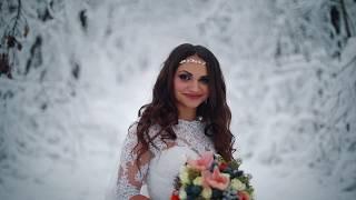 Свадебный тизер Свадьба в Святогорске зимой
