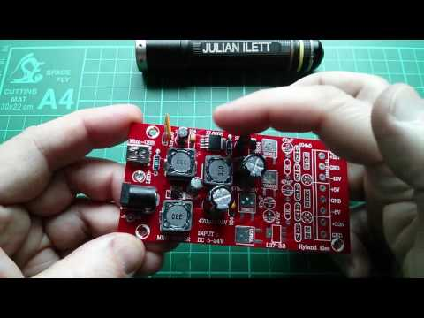 Split Rail Power Supply Kit Build - SEPIC Cuk Topology