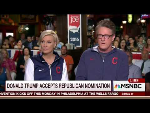 Mike Barnicle on Donald Trump's dark, fear-focused acceptance speech at the RNC (22 July 2016)