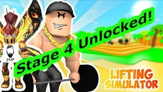 Stage 4 reached , i even forgot i was recording lol -Roblox