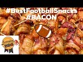 Bacon Wrapped Little Smokies - SUPER BOWL - BEST FOOTBALL SNACK - EverydayBBQ w/Rich's River Smokers