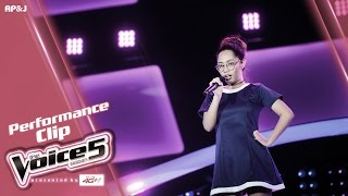 The Voice Thailand - ออม อุษณี  - Boyfriend - 20 Nov 2016