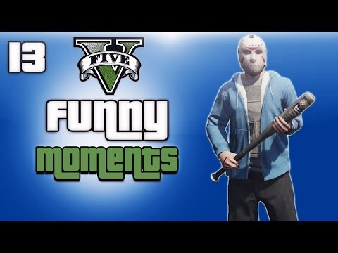 GTA 5 Online Funny Moments Ep. 13 (H2O Vs...