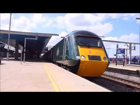 GWR Class 43 HST departs Reading