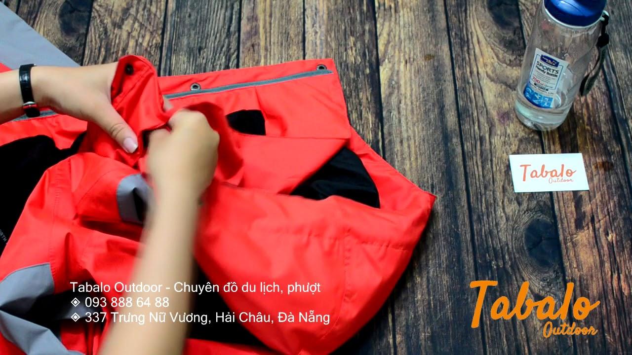 Full clip test áo The North Face 2 lớp VNXK tại Tabalo