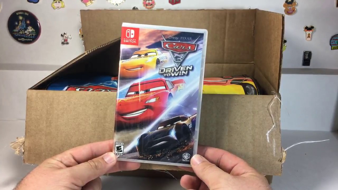 Cars 3 Driven To Win Mystery Box From Warner Brothers Unboxing