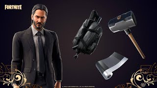Fortnite live - FORTNITE JOHN WICK SKIN - Fortnite item shop