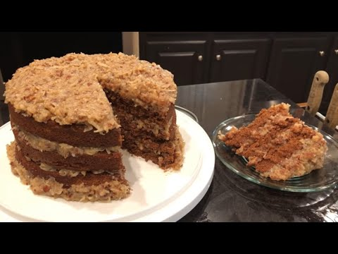 German Chocolate Cake: Meso Southern Delicious